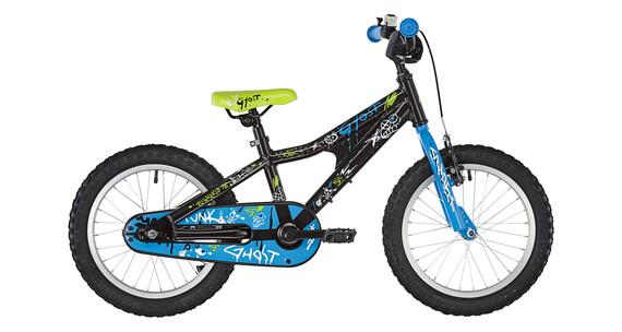 Ghost Powerkid AL 16 - Vélo enfant - bleu/noir